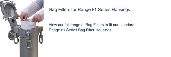 Bag Filters for Range 81 Series Filter Housings